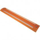 Plafón RUBI retangular 2x24W G5 T5 L.66xAn.17,5xAl.5cm Naranja
