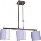 Lámpara de Techo ANDAMAN 3xE14 L.68xAn.18xAl.Reg.cm Lila/Cromo