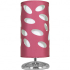 Table Lamp FRISIA 1xE27 H.31xD.14cm Aubergine/White