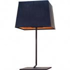 Table Lamp BELGICA 1xE27 L.37xW.37xH.70cm Black/Gold