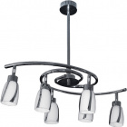 Lámpara de Techo BEJA 6xGU10 L.60xAn.34xAl.Reg.cm Cromo