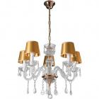 Ceiling Lamp ADELINA 5xE14 H.Reg.xD.50cm Gold