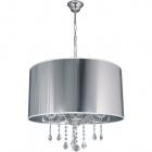 Ceiling Lamp EDUARDA large 5xE14 H.Reg.xD.57cm Chrome