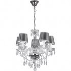 Ceiling Lamp EDUARDA small 5xE14 H.Reg.xD.50cm Chrome