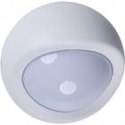 Aplique EUFRATES IP44 1xE27 An.12xD.19cm Aluminio + Policarbonato (PC) Blanco