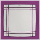 Plafond AMET 2xE27 C.30xL.30xAlt.6cm Beringela