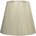 Lampshade INDIRA round & conic in threads with fitting E27 H.14xD.25cm Beije