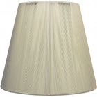 Lampshade INDIRA round & conic in threads with fitting E27 H.24xD.40cm Beije