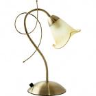 Table Lamp MARSELLA 1xE14 L.15xW.27xH.38cm Antique Brass