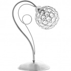 Table Lamp KEGAN 1xG9 L.13xW.23xH.33cm Chrome