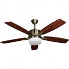 Ceiling Fan MENFIS 5 blades 2xE27 H.46xD.132cm Cherry/Walnut/Antique Brass