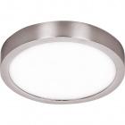 Plafond TALISMAN round 1x18W LED 1440lm 4000K 120° H.2,5xD.17cm Satin Nickel