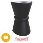 Aplique SIRIUS IP44 2xE27 L.19xAn.15xAl.30cm Negro