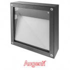 Aplique QUADRA MAX IP65 1xR7s 118mm L.25xAn.25xAl.8cm Aluminio+Vidrio Antracita