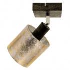 Aplique HERMAN 1xE14 An.10Al.20cm Oro/Negro