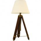 Table Lamp ZAHRA tripod 1xE27 H.64xD.31cm Brown