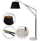Floor Lamp ELVIRA 1xE27 L.140xW.45xH.183cm Black/Gold