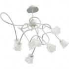 Ceiling Lamp GOULMINA 8xG9 H.Reg.xD.65cm Grey