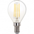 Light Bulb E14 (thin) Ball CLASSIC LED 6.5W 4000K 806lm Transparent-A++