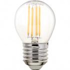Light Bulb E27 (thick) Ball CLASSIC LED 6.5W 2700K 806lm Transparent-A++