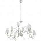 Ceiling Lamp BARI 8xG9 H.Reg.xD.75cm Grey