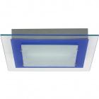 Plafond BELÉM quadrado 1xR7s 118mm C.29xL.29xAlt.4cm Azul