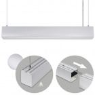 Suspending Light LINEX B2 60cm 1x20W LED 1600lm 6400K 110° L.60,3xW.5,8xH.Reg.cm Aluminium
