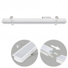 Recessed Linear Light LINEX B2 60cm 1x20W LED 1600lm 3000K 110° L.61,5xW.6,5xH.3,5cm White