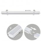 Recessed Linear Light LINEX B2 60cm 1x20W LED 1600lm 4000K 110° L.61,5xW.6,5xH.3,5cm White