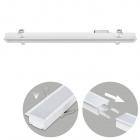 Recessed Linear Light LINEX B2 120cm 1x40W LED 3200lm 6400K 110° L.121,5xW.6,5xH.3,5cm White