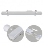 Recessed Linear Light LINEX B2 60cm 1x20W LED 1600lm 6400K 110° L.61,5xW.6,5xH.3,5cm Aluminium