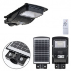 Aplique Solar Solar Street Light con sensor IP65 1x50W LED 450lm 6400K L.18,7xAn.36xAl.5,5cm Negro