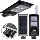 Aplique Solar Solar Street Light con sensor IP65 1x200W LED 1300lm 6400K L.25xAn.63xAl.7cm Negro