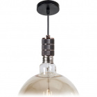 Pendant Light SENSATIONS 1xE40 H.Reg.xD.10cm Copper (B.pr)