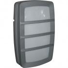 Aplique ANTUÃ IP54 2xE27 L.19xAn.9,5xAl.30cm Metal+Plástico Gris