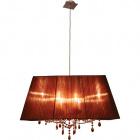 Ceiling Lamp OLÍMPIA 6xE14 L.75xW.40xH.Reg.cm Brown/Copper