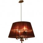 Ceiling Lamp OLÍMPIA small 4xE14 L.56xW.36xH.Reg.cm Brown/Copper