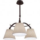 Ceiling Lamp GRANADA 3xE14 H.Reg.xD.47cm Brown/Beije