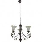 Ceiling Lamp MONZA 3xE14 H.Reg.xD.60cm Antique Brass