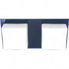 Aplique REBECA 2xG9 C.29xL.14xAlt.8cm Azul
