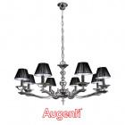 Ceiling Lamp ONDINA 8xE14 H.Reg.xD.88cm Chrome