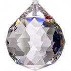 Crystal end stone D.10cm transparent (Box)