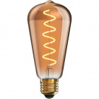 Light Bulb E27 (thick) Pear CLASSIC DECOLED Dimmable 5W 1800K 280lm Amber-A