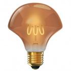Light Bulb E27 (thick) Flower CLASSIC DECOLED D125 4W 1800K 300lm Amber-A+