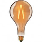 Light Bulb E27 (thick) Tear CLASSIC DECOLED Dimmable D380 8W 1800K 630lm Amber-A