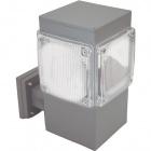 Aplique GARDUNHA cuadrado IP54 1xE27 L.18xAn.26xAl.30cm Aluminio+Plástico Gris