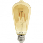 Light Bulb E27 (thick) JADIR LED 4W 2200K 200lm 270°Amber-A+