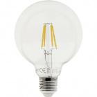 Light Bulb E27 (thick) Globe JOBIM LED D95 4W 2700K 200lm Transparent-A+