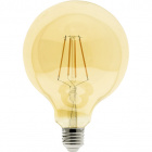 Light Bulb E27 (thick) Globe JOBIM LED D125 8W 2200K 850lm Amber-A+