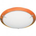 Plafond HYERES redondo 2xE27 Alt.12xD.40cm Cerejeira/Branco
